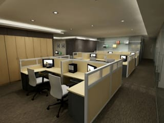 Mr. Suryo Tan's Office ANJARSITEK Bangunan Kantor Modern