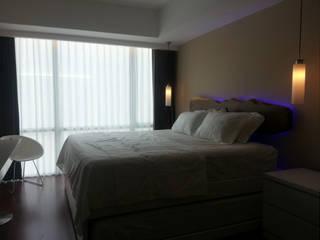 ANJARSITEK モダンスタイルの寝室