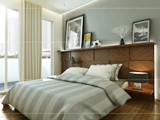 Bedroom designs:  Bedroom by Fabmodula