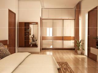 Bedroom designs Modern dressing room by Fabmodula Modern