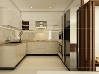 Kitchen designs Modern kitchen by Fabmodula Modern