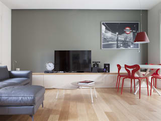 City Penthouse Soggiorno moderno di Filippo Colombetti, Architetto Moderno