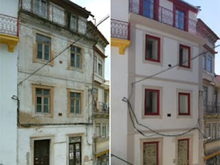 Reabilitação de um edifício no Centro Histórico de Coimbra:   por SPOT Obras