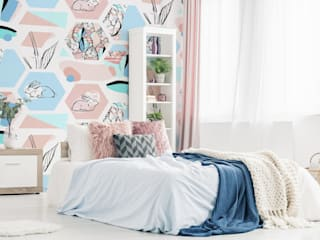 Easter Time Pixers Scandinavian style bedroom