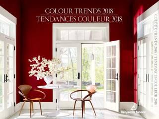 Tendances couleur 2018 par Benjamin Moore France Moderne