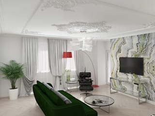 Париж: Гостиная в . Автор – Студия дизайна Светланы Исаевой