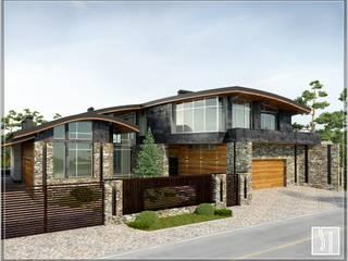 частный дом: Дома на одну семью в . Автор – Студия дизайна Светланы Исаевой