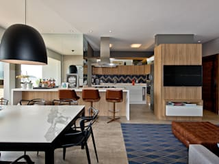 Espaço do Traço arquitetura Industrial style kitchen