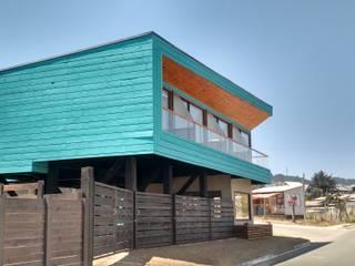 HOSTAL LA MAI, AVENIDA COSTANERA, PICHILEMU de KIMCHE ARQUITECTOS Moderno