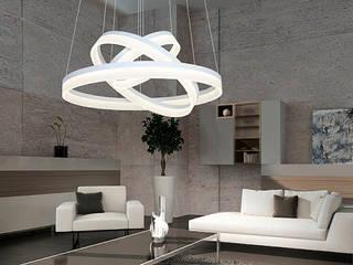 Lampa LED Ring 408: styl , w kategorii  zaprojektowany przez 4FunDesign.com