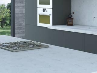 POLİMER DECOR Mermer Masa  Mutfak Ve Banyo Tezgahları Uygulama Merkezi – Belenco Tezgah Markası Renkleri Ve Modelleri: modern tarz , Modern