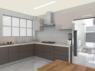 Cozinha RL por Natália Parreira Design de Interiores e Paisagismo Moderno