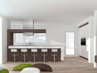 O seu Projeto: Cozinhas  por Kitchen In,Moderno