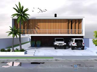 Casas estilo moderno: ideas, arquitectura e imágenes de Jorge Machado arquitetura Moderno