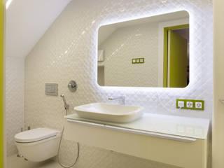 Тихая гавань Ванная комната в стиле минимализм от Архитектурная мастерская Leto Минимализм