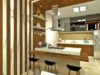 de Laene Carvalho Arquitetura e Interiores Moderno