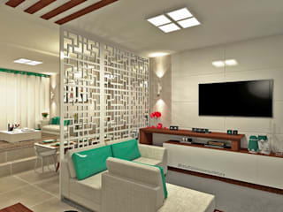 Salas modernas de Laene Carvalho Arquitetura e Interiores Moderno