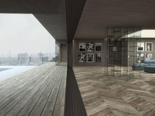 غرفة المعيشة تنفيذ Schuster Innenausbau
