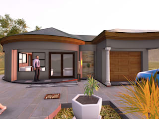 Linda House plan :   by iRON B HOME DESIGN