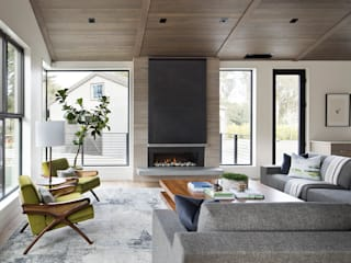 Woodpecker Ranch: modern Living room by Feldman Architecture