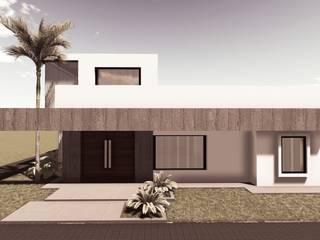 VIVIENDA UNIFAMILIAR FD - VILLA ASCASUBI de PRIGIONI Arquitectura y Diseño Moderno