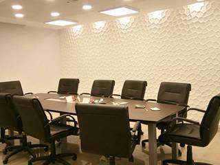 REMODELACION OFICINAS - HESAR HNOS. S.A. - V. ASCASUBI Edificios de oficinas de estilo moderno de PRIGIONI Arquitectura y Diseño Moderno