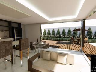 Modern houses by Arquiteta Frann Costa Modern