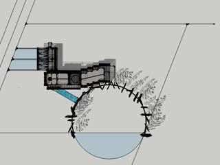 CASA EN CONDOMINIO LAS TRANQUERAS | PUERTO VARAS:  de estilo  por RH+ ARQUITECTOS, Moderno