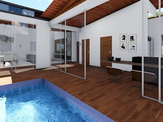 realizearquiteturaS Garden Pool