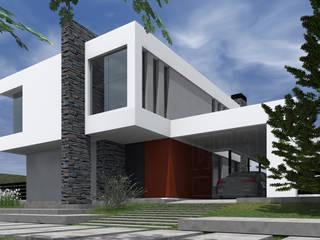 獨棟房 by BM3 Arquitectos, 現代風
