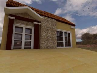 Remodelacion de Fachada: Casas de estilo  por Bocetos Studio Aquitectos, Clásico