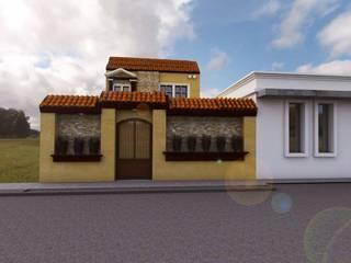 Remodelacion de Fachada: Casas unifamiliares de estilo  por Bocetos Studio Aquitectos, Clásico