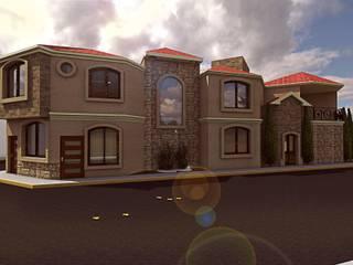 Casa residencial E&A Casas coloniales de Bocetos Studio Aquitectos Colonial