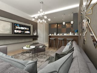 Salas / recibidores de estilo  por 50GR Mimarlık, Moderno