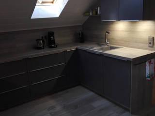 Onyxgrau - Wildeiche grau von Küchen + Wohn - Studio Axel Trinkl Modern