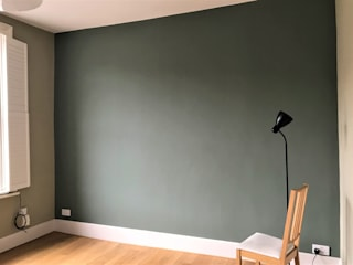 Painters and decorators in Highbury Square Paintforme Classic style living room Green