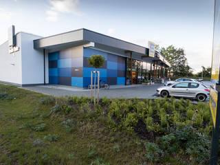 EDEKA Etzenricht Moderne Ladenflächen von plusEnergieArchitektur Modern