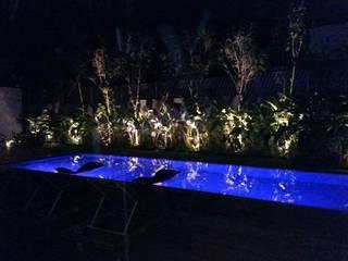 HIDRO ELETRICA AMORIM INSTALADORA Garden Pool Ceramic