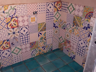 Mediterranean style bathrooms by Tuscany Art Mediterranean