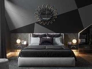 Дизайн мансарды Спальня в эклектичном стиле от 'PRimeART' Эклектичный