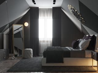 'PRimeART' Eclectic style bedroom