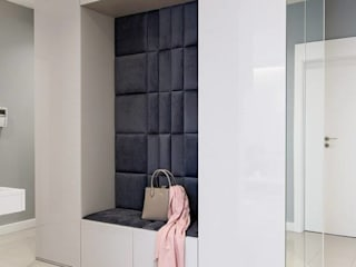 Siedzisko pokryte panelami tapicerowanymi DAPPI: styl , w kategorii  zaprojektowany przez DAPPI
