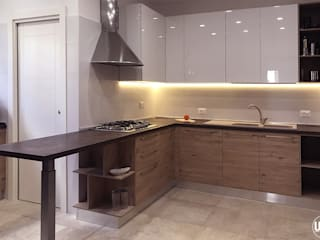 ULA architects Built-in kitchens Brown