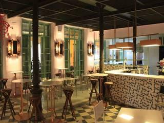 Restaurante Calderón de la Barca Margarita Jiménez moreno Salones de estilo mediterráneo