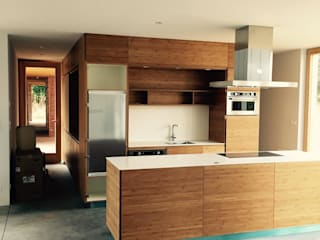 homify Modern kitchen Solid Wood Wood effect