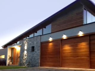 Azcona Vega Arquitectos Wooden houses Wood effect