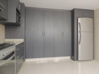 Cocina de L+arq Architecture Design Studio Ecléctico