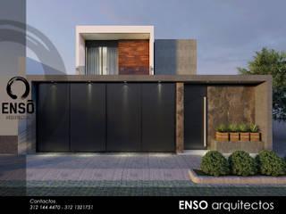 CASA ZAZEN: Casas de estilo moderno por Enso Arquitectos