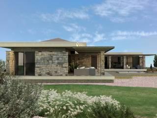 Vivienda en Algodon: Casas de estilo  por Azcona Vega Arquitectos,Moderno