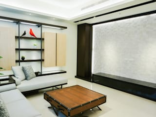 Salon de style  par 沐築空間設計,